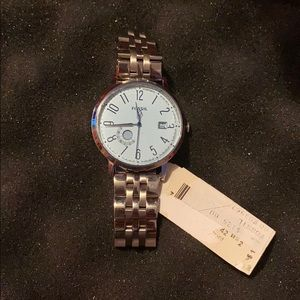 FOSSIL Vintage Muse Blue Dial Stainless Steel